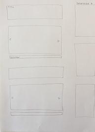 vereinfachte Skizze: Blogseite.