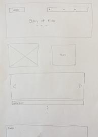 vereinfachte Skizze: Startseite.