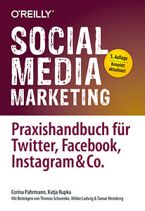 Buchcover Social Media Marketing