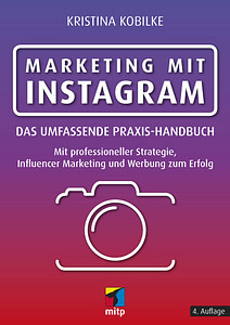 Buchcover Marketing mit Instagram