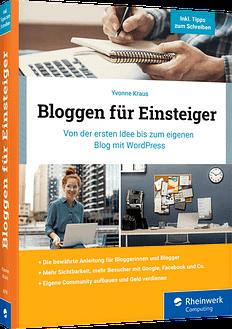 Buchcover Bloggen für Einsteiger von Yvonne Kraus