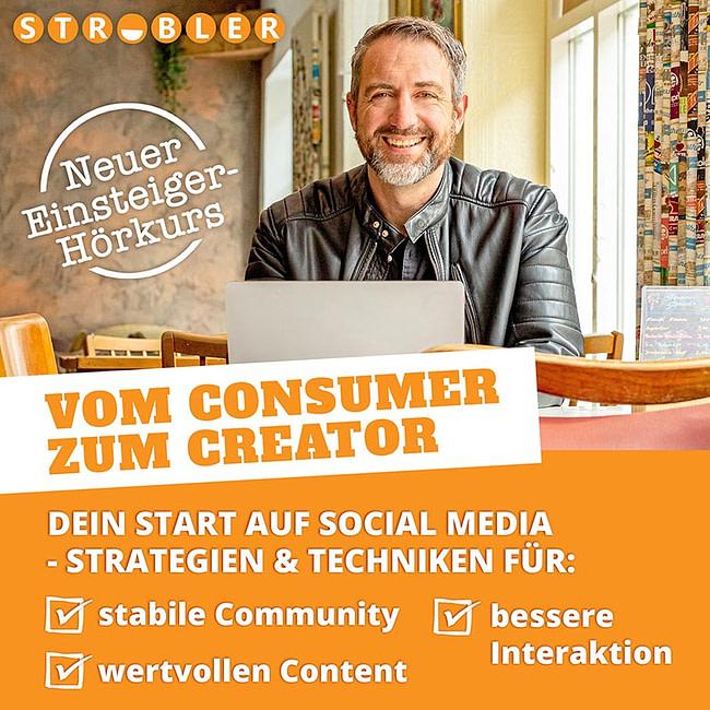 Cover Hörkurs: Vom Consumer zum Creator