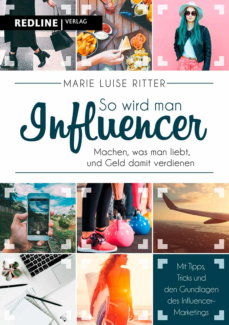 Buchcover So wird man Influencer von Marie Luise Ritter