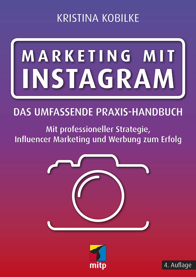 Buchcover Marketing mit Instagram